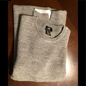 BRAND NEW/NEVER WORN Men's wool blend sweater Lg